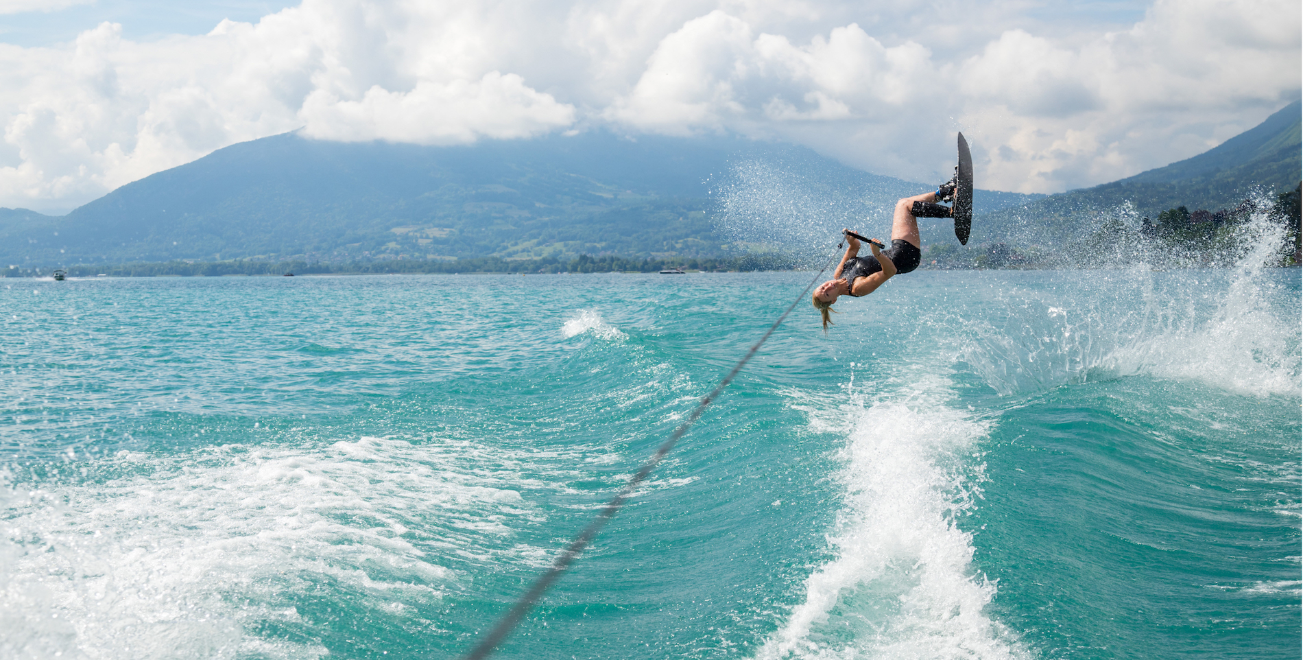 Ski nautique Clémentine Lucine