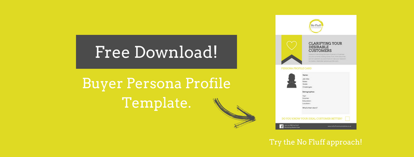 Free Buyer Persona Profile Template