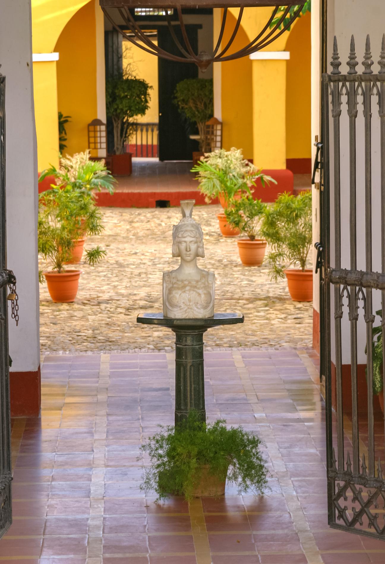 Cuba cour intérieur