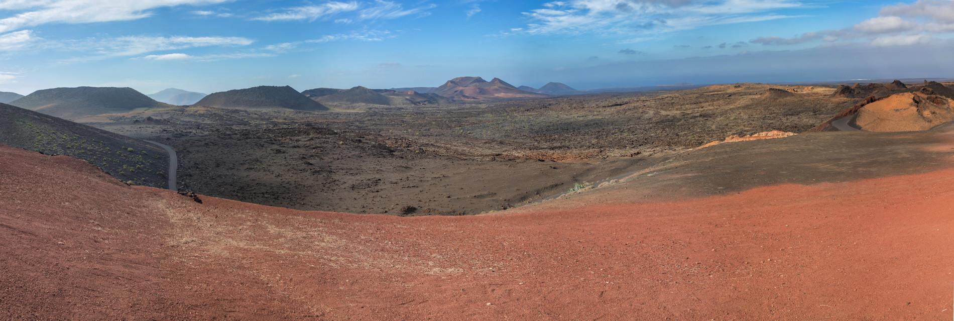 PHOTO Lanzarote Parc Timanfaya panoramique