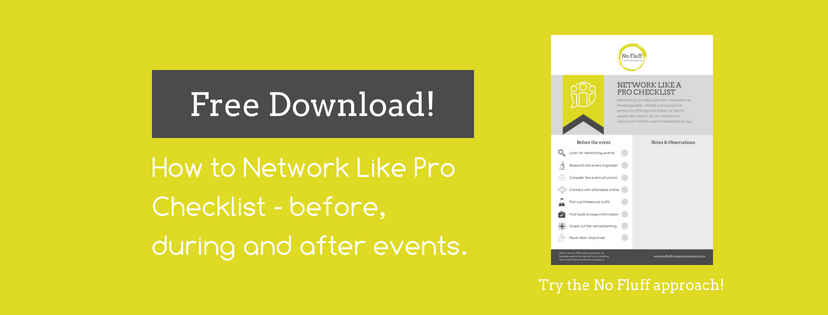Free Download: Network Like A Pro Checklist