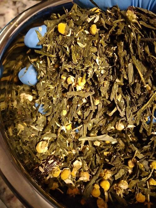 Salted Caramel Green Tea