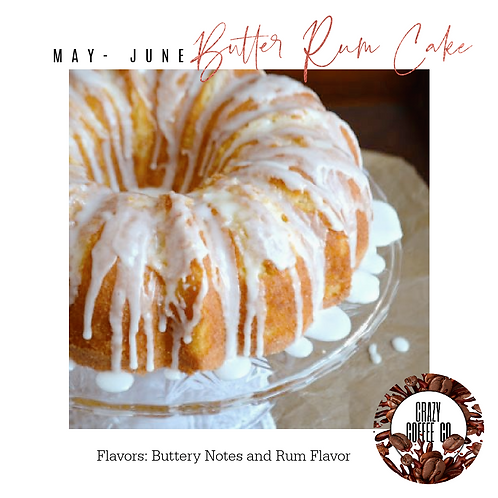 Butter Rum Cake Flavored Coffee
