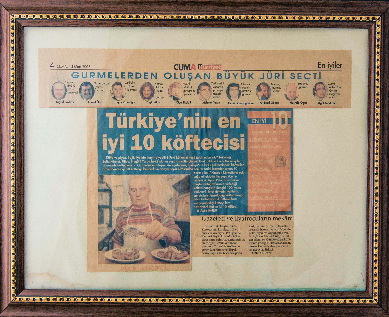 Türkiye'nin En iyi 10 Köftecisi