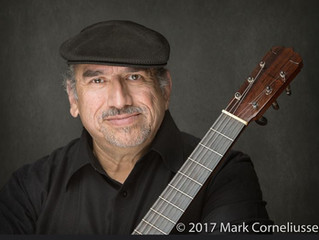 Ismael Barajas Playing at Desert Springs January 26th from 5-7 PM