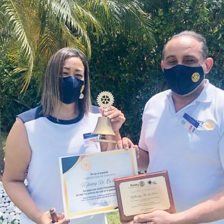 Club Rotario Punta Cana-Bávaro juramenta su nueva presidenta