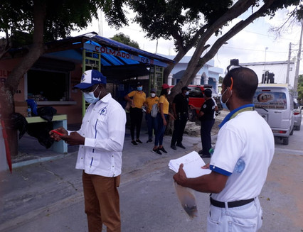 Salud Pública realiza jornada de prevención de dengue en Verón-Punta Cana