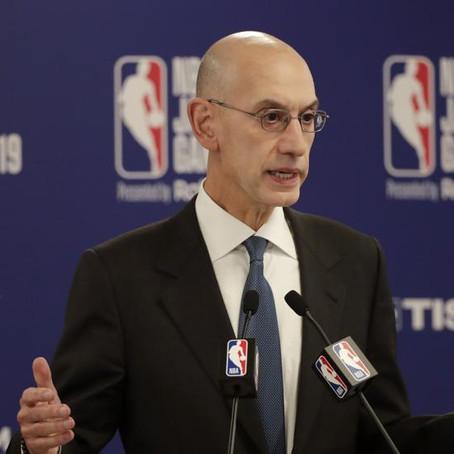 Adam Silver está sorprendido por la caída de audiencia en la NBA