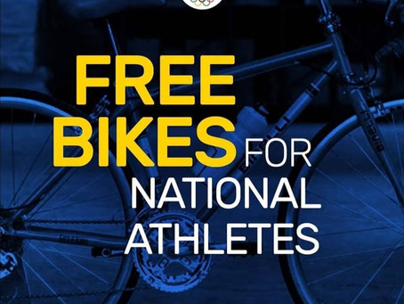 ANNOUNCEMENT: National athletes may now apply for the free bikes to be given by POC.