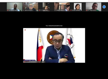 POC General Assembly, August 29, 2020 via Zoom.