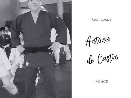 Our deepest condolences to the family of our Judo colleague Mr. ANTONIO DE CASTRO
