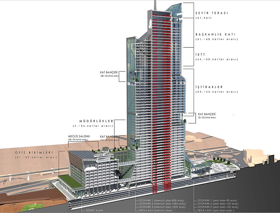 High Rise 100 M Projects Emir Structural Engineering