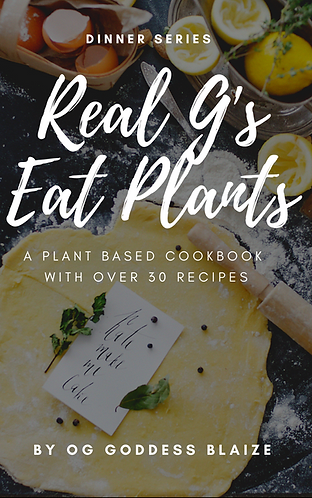 Real G's Eat Plants Ebook & Tee