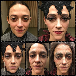 The Evil Queen! Stylized transformation from beauty to crone