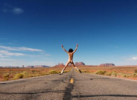 naked hitchhiker.
