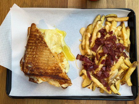 the great grilled cheese quest.
