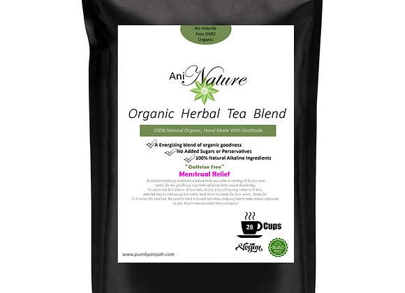 Organic Menstrual Cramp Relief Tea Blend