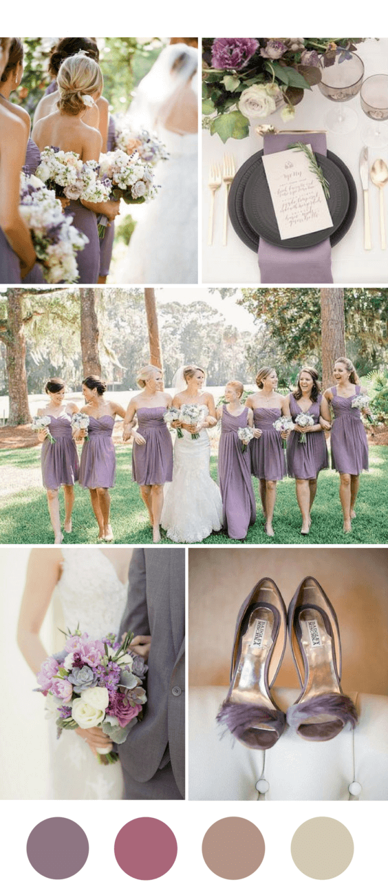 Popular Wedding Colors.8 Popular Fall Wedding Color Palettes For 2018