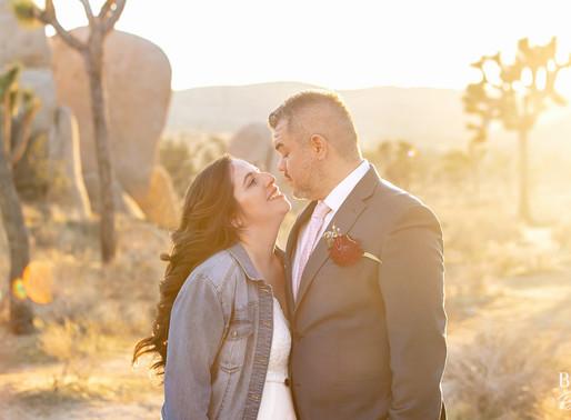 Joshua Tree National Park Wedding | Mariana & Pablo