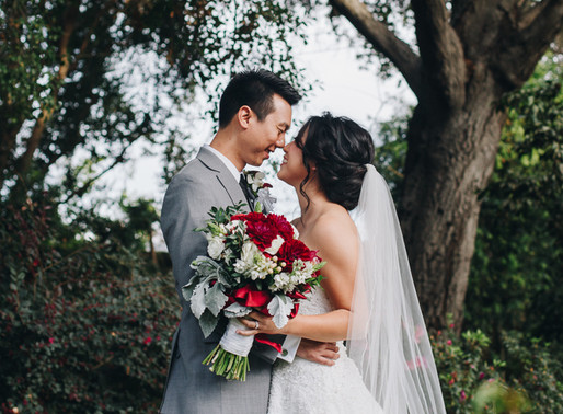King Hua Restaurant Los Angeles Wedding | Mickie & Steven