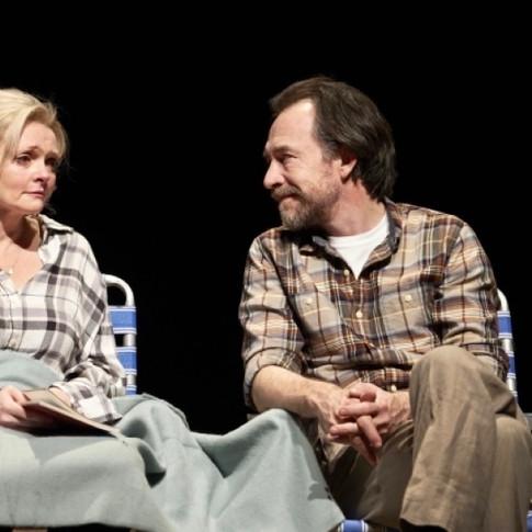 Dominic Mafham & Sharon Small in Still Alice