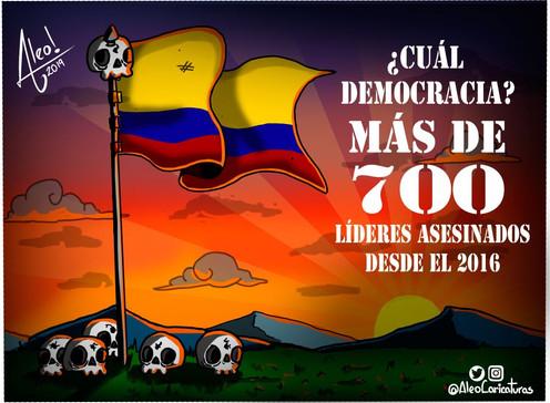 [Caricatura] ¿Cuál democracia?