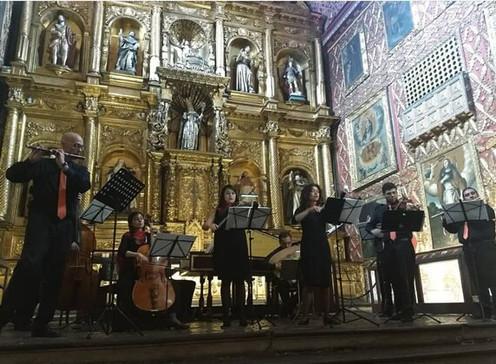 El Bicentenario de la Independencia se festeja con música barroca