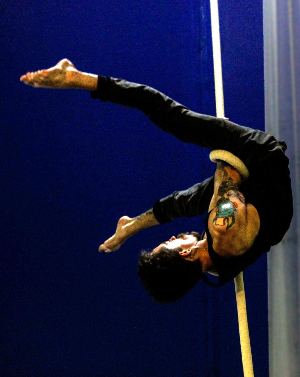 La cuerdas en el Circo para todos