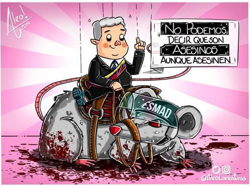[Caricatura] ¡ESMAD Asesino!