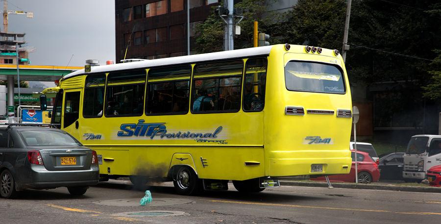Foto del SITP