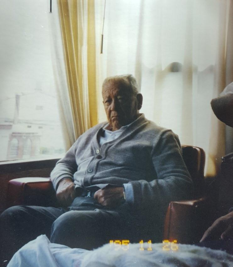 FOTO: Jose Antonio Almeida es el abuelo de Santiago
