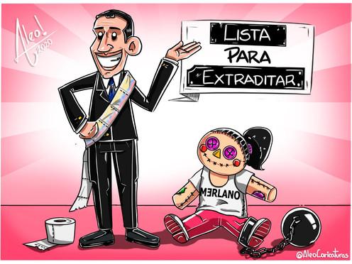 [Caricatura] Lista para extraditar