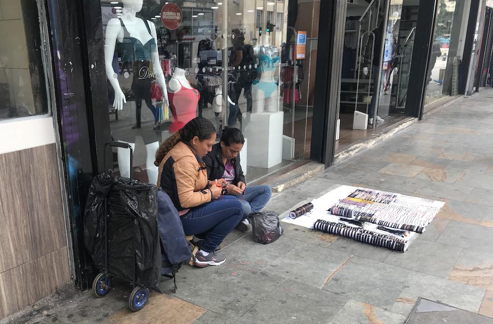 Trabajando en la calle