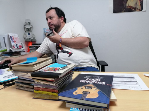 """[Entrevista] Jaime Andrés Monsalve: """"Al disco hay que juzgarlo por la portada"""""""