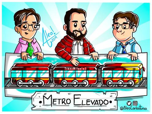[Caricatura] Metro elevado