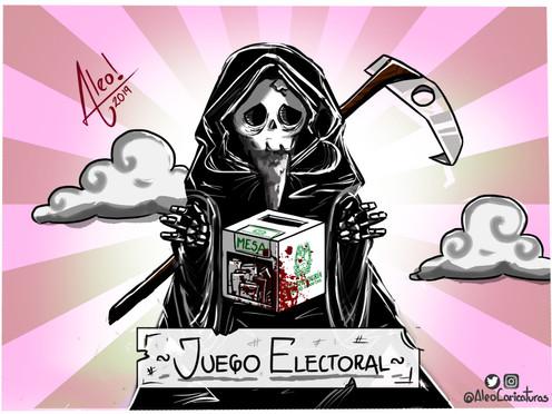 [Caricatura] Juego electoral