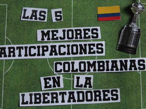 Las mejores participaciones colombianas en la Libertadores