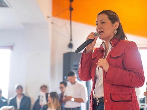 'Quiero ser la alcaldesa que recupere la cultura ciudadana en Bogotá': Ángela Garzón