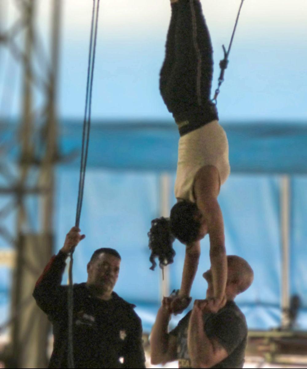 Ejercicios en el Circo para todos