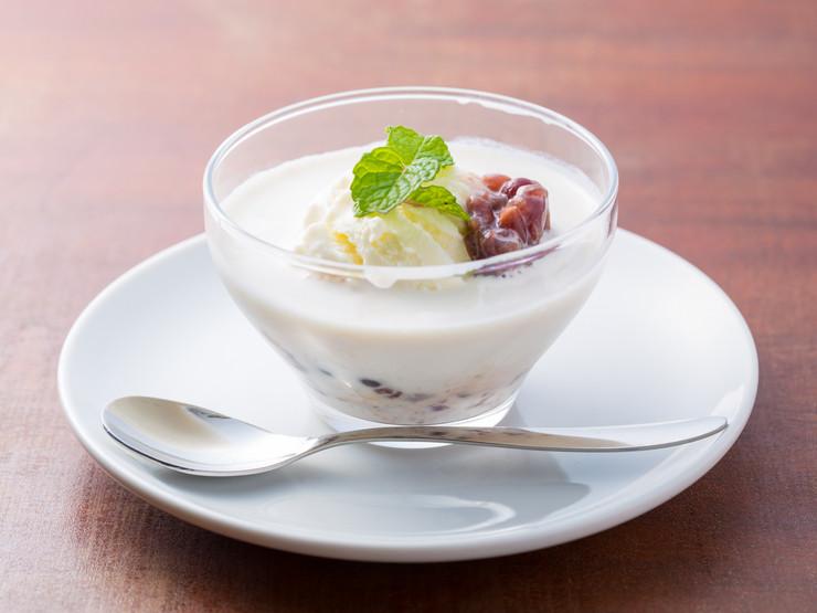 タピオカココナッツミルクアイス