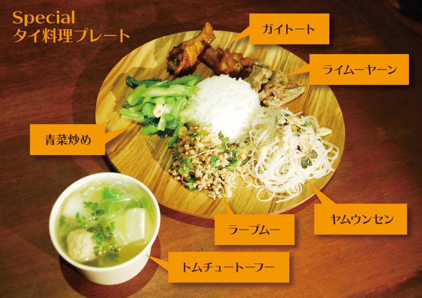 タイ料理プレート