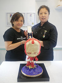 Yu Rieu Su receives her 1st Star from Instructor Jing Han