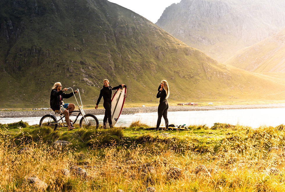 Unstad beach - Lofoten Surfsenter
