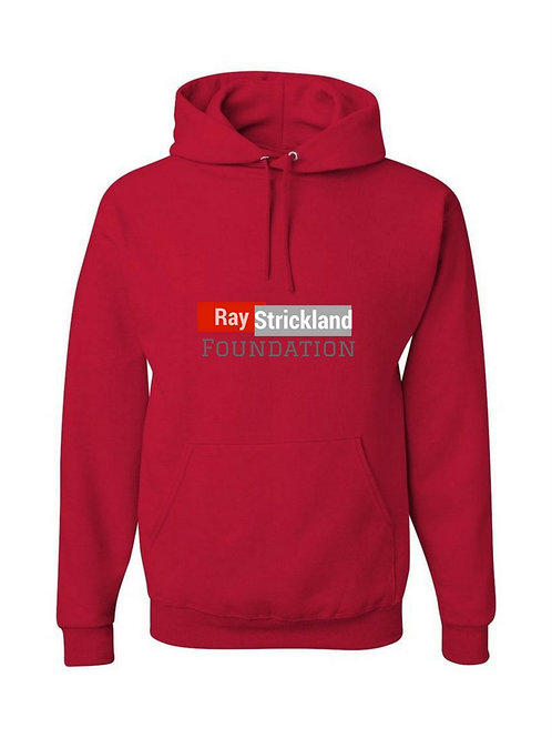 Red RSF Hooded Sweatshirt  Cotton/Polyester Blend