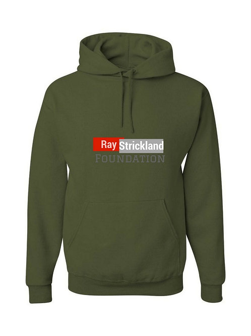 Green RSF Hooded Sweatshirt Cotton/Polyester Blend