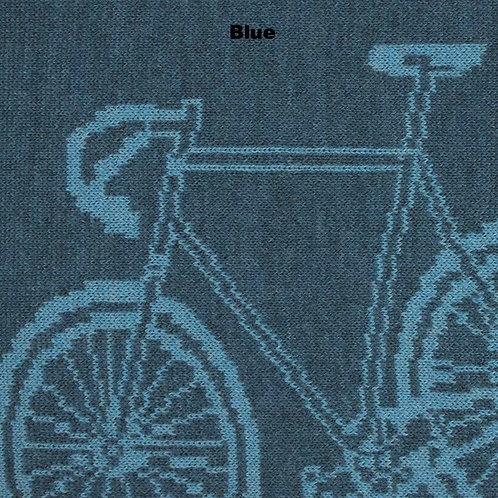 Bike Merino Scarf - Blue