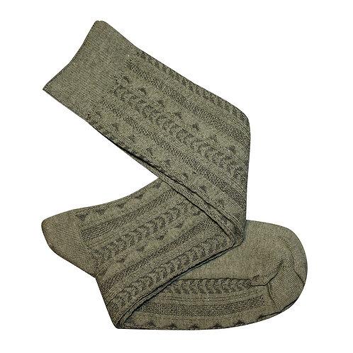 Tevere Long Socks - Olive