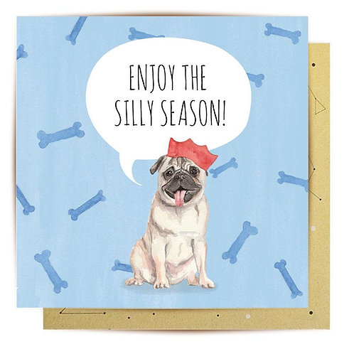 Greeting Card Enjoy The Silly Season