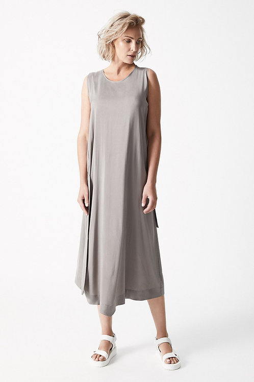 Dress Liwa - Driftwood