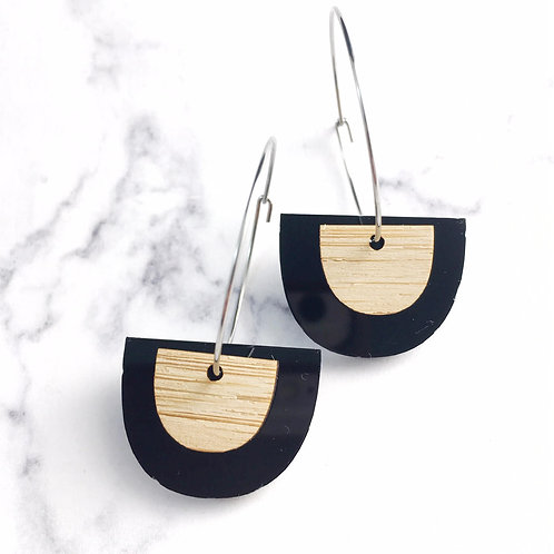 Your New Everyday Black Earrings